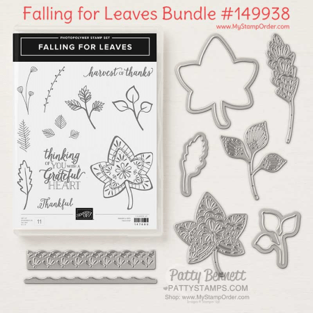 149938 Falling for Leaves bundle from Stampin' UP! available at www.MyStampOrder.com