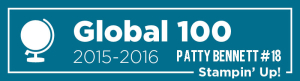 Patty Stamps 2016 Global 100