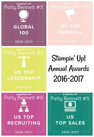 Patty Stamps 2017 Awards