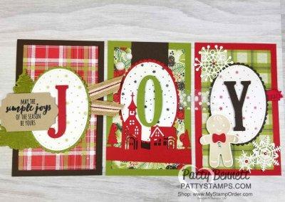 JOY Banner Christmas Home Decor!