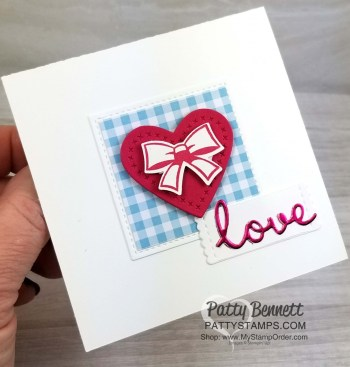 Clean and Simple Love Card