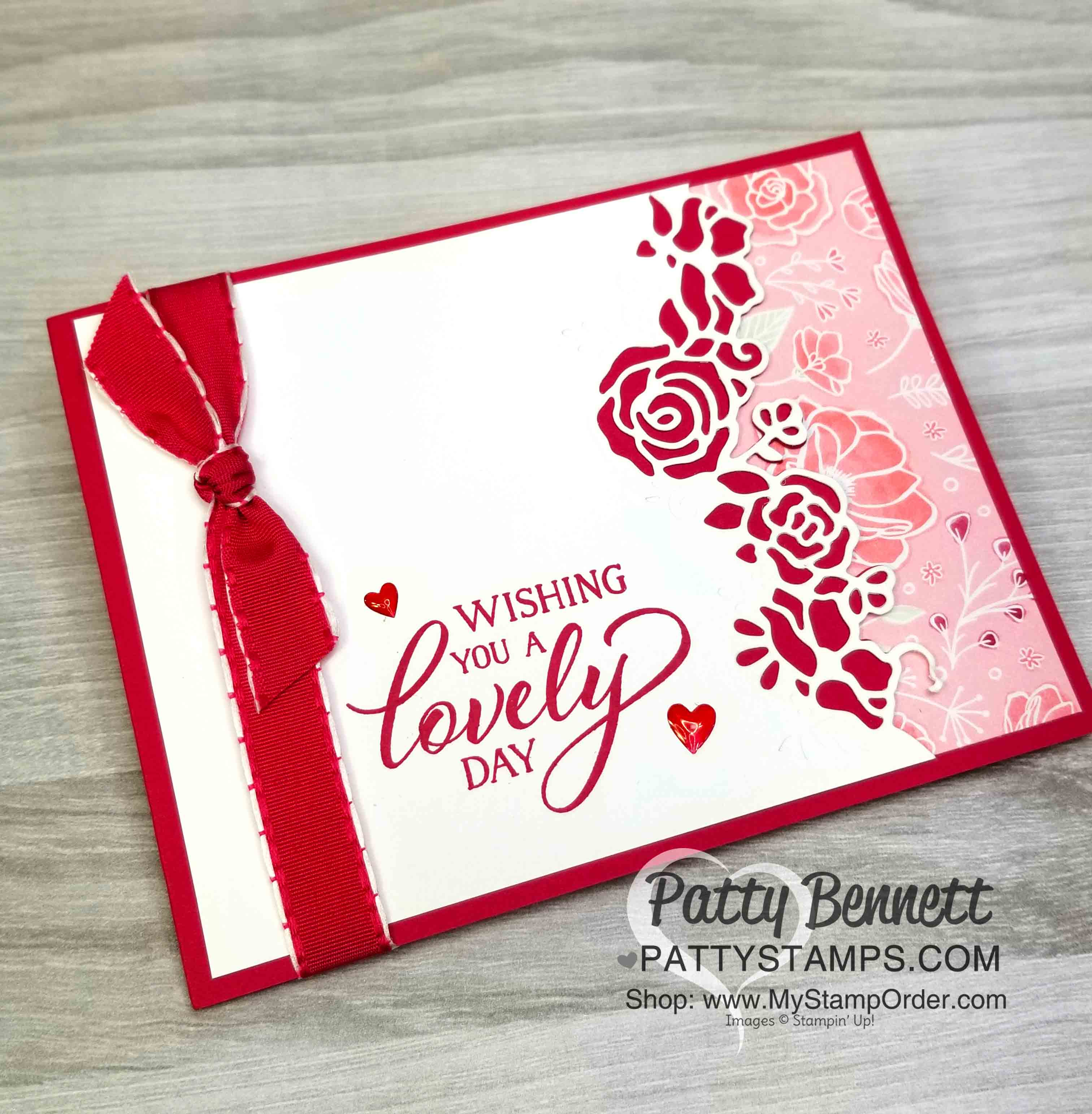 forever lovely and valentine card ideas  patty stamps