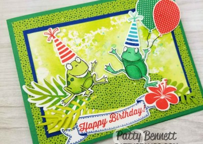 Hop Around Frog Framelits Available!