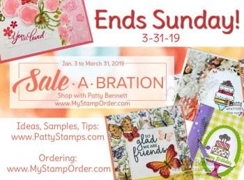 Last Call! Sale-a-Bration 2019 ends Sunday!
