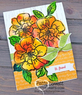 Wild Rose Pigment Sprinkles Card Ideas