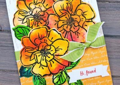 Wild Rose Pigment Sprinkles Card Ideas
