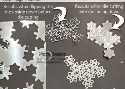 Die Cutting tip for Christmas Layers Dies