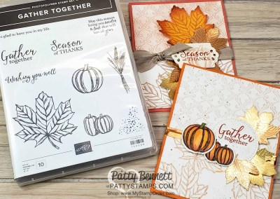 Gather Together Fall Card Ideas Holiday Catalog
