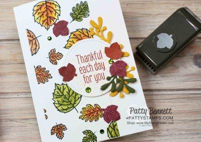 To Every Season Bundle Fall Leaf Card