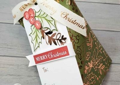 Christmas Sour Cream Twist Treat Pouch