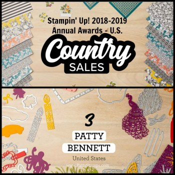 Stampin' UP! Annual Demonstrator Awards