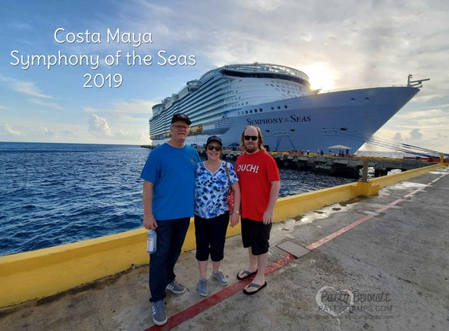 Bennett Family vacation: Scrap and Paper Cruise 2019 Symphony of the Seas ship. Stamping and crafting cruise!! www.PattyStamps.com