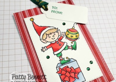 Elfie Christmas Cards and Tags