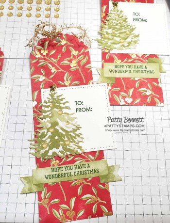 Most Wonderful Time Christmas Gift Tags