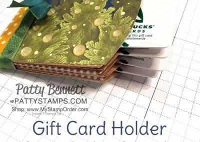 Unique Pillow Box Gift Card Holder Idea