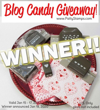 Hearts Blog Candy Winner