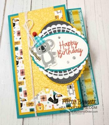 Fun Fold Birthday Bonanza Card Idea
