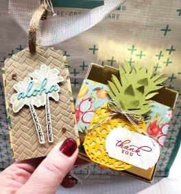 Cute Tropical Oasis Party Favor Ideas