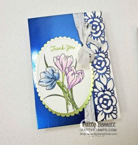 Noble Peacock Foil Note Cards