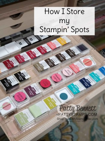 How I Store my Stampin' Spots
