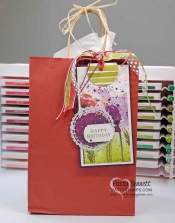 Birthday Gift Bag Tag Ideas