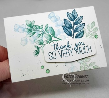 Forever Fern Simple Stamping Note Card
