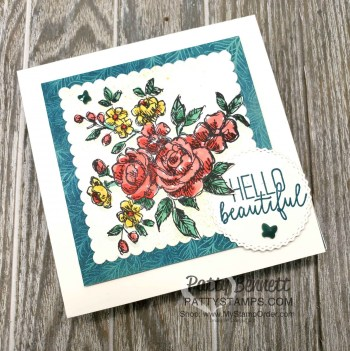 Easy Coloring with Stampin' Blends