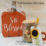 Fall Hostess gift idea featuring Stampin