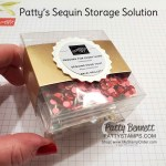 Storage Solution Idea for Stampin