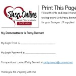 Shop the Stampin