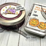 Halloween Treat Tins from Stampin