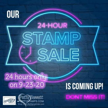 Card Ideas for Stampin UP Stamp Sale starting tomorrow!