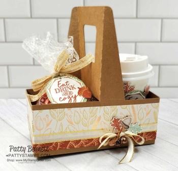 Gilded Autumn Thanksgiving Gift Idea