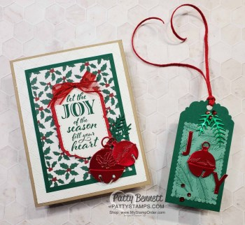 Cherish the Season Foil Bells Christmas Cards
