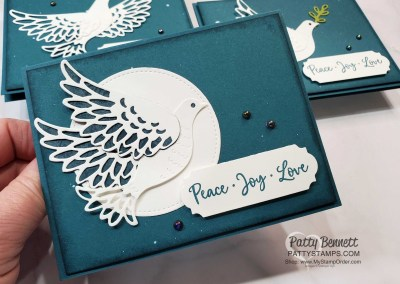 Simple Dove of Hope Christmas Cards