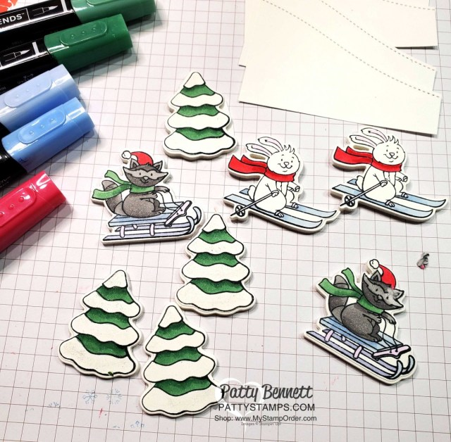 Freezin' Fun Bundle with Stampin' Up! perfect for coloring with Stampin' Blends Alcohol markers. www.PattyStamps.com