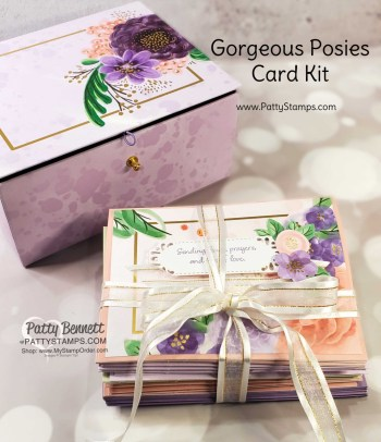 Gorgeous Posies Card Kit and Video