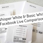Comparing Stampin UP Whisper White and the NEW Basic White cardstock, envelopes, note cards and more! Replay of live video with Patty Bennett www.PattyStamps.com