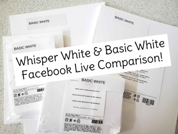 Comparison of Basic White & Whisper White Video