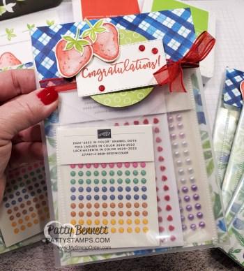 Repurpose Stampin' Up! Die Envelopes with Sweet Strawberry bundle