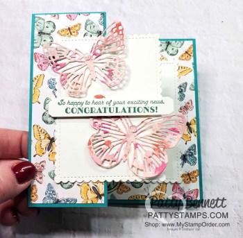 Butterfly Brilliance Bundle Card Ideas & Fun Fold