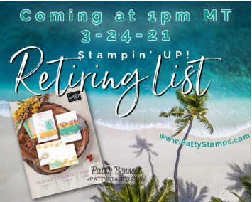 Annual Catalog Retiring List coming today!