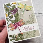 Dragonfly card idea featuring Stampin