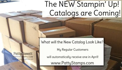 How to get a New 2021-2022 Stampin' UP! Catalog from Patty