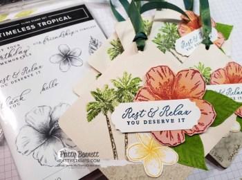 Timeless Tropical Bag Tags for Maui Trip Achievers