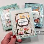 Golden Garden acetate overlay card ideas featuring Stampin