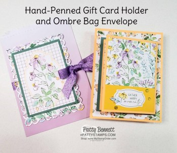 Fold Out Gift Card Holder Video Tutorial