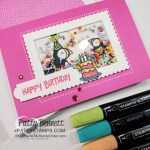 Party Puffins stamp set #155054 from Stampin