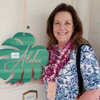 Greetings from the Stampin' Up! Maui Incentive Trip