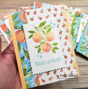 Tips for Stamping Sweet as a Peach from Stampin' Up!